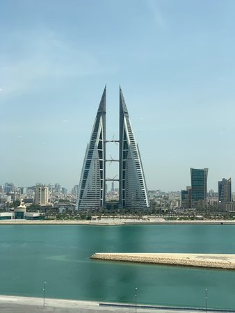 Nice overview of Bahrain Bay