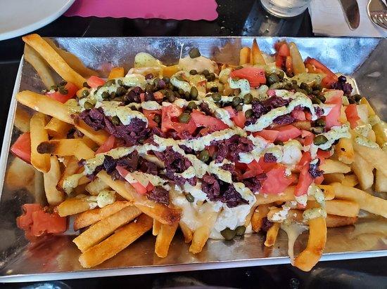 Suburban Diner: Mediterranean Fries