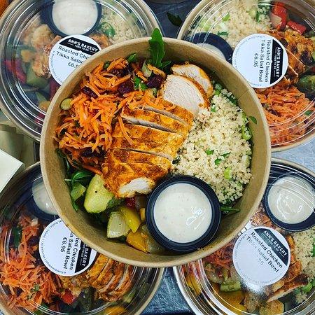 Salad Bowls to go.