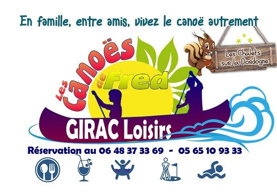 Les Canoes de Fred - Girac Loisirs