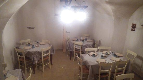 Ceglie Messapico, Italia: Sala interna