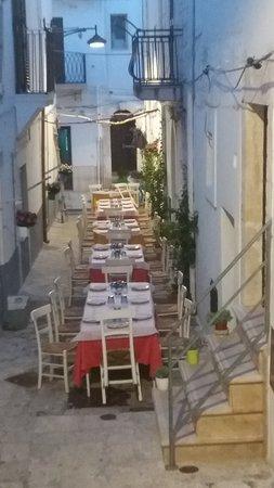 Ceglie Messapico, Italia: Sala esterna