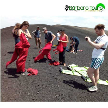 ‪‪Cerro Negro‬: Preparing to feel the adrenaline‬