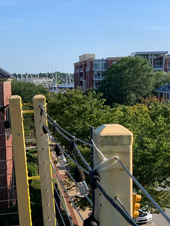 Captain Ratty's Seafood & Steakhouse: Rooftop view