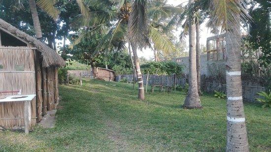 Tofinho, موزمبيق: camping area