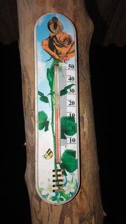 Monte das Gameleiras, RN: 18º a temperatura no início da noite, com vinho e pizza