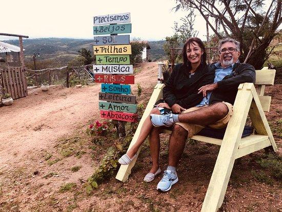 Monte das Gameleiras, RN: Área de circulação da Pousada