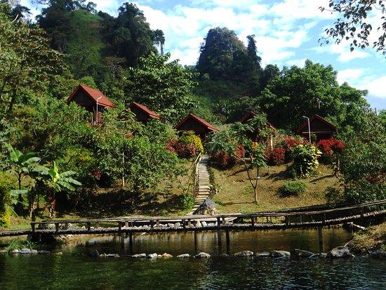 Hot Spring Kasi Resort Laos: Hot spring