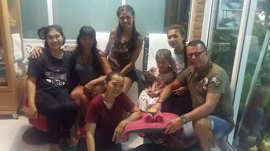 Thank you so much for our guest. They are such a lovely family and always spend time for massage at Lanla Massage. We are really appreciate for your kindness. We would like to do the best massage service for you and our next guest. If you are traveling to Khaolak please, try to visit us.  Thank you Lanla Team