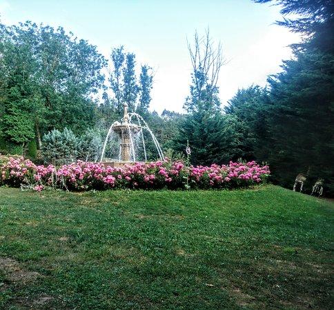 Les magnifiques jardins autour de la piscine
