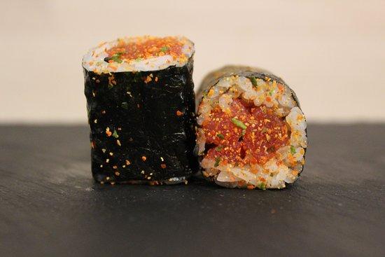 Hosomaki de tonyina spicy / Hosomaki de atún spicy