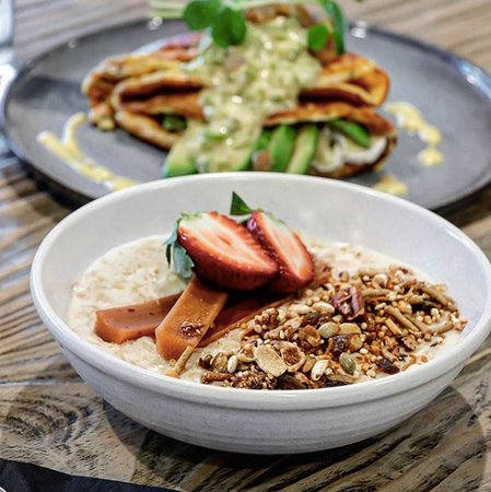 Porridge or omelette?  Why not have both from our all day menu