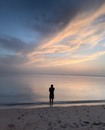its on of the most beautiful and relaxing beaches in entire Persian Gulf , trust me . no one will bother  you here;