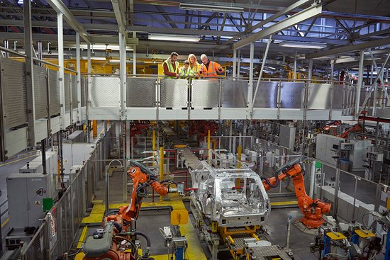 Solihull, UK: Land Rover Experience Manufacturing Tours