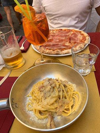 Comida auténtica italiana
