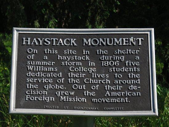 Haystack Monument