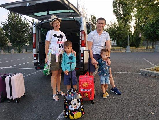 Mr. Cirstea & his family