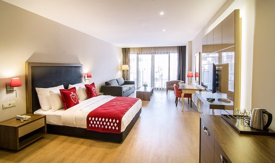 ليديز بيتش ريزيدنس: standart oda görünümü -Şehir manzarası  -50 m2'den başlayan büyüklük  -Minibar  -Split Klima  -Led TV (102 cm)  -Su ısıtıcı  -Saç Kurutma Makinesi  -Safe box  -Kablosuz İnternet  -7/24 Room Service