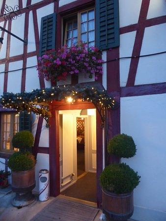 Winkel, Sveits: the entrance