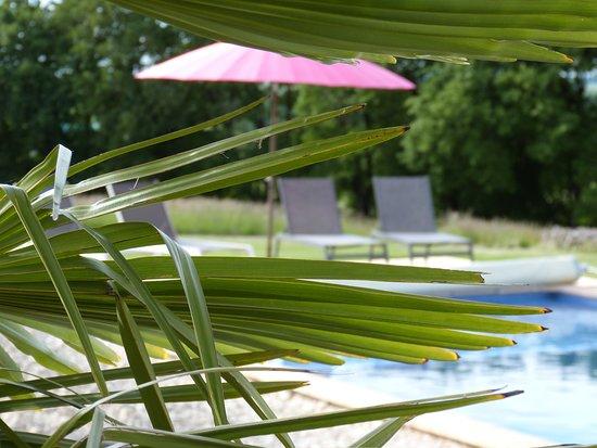 Mauroux, ฝรั่งเศส: Piscine chauffée