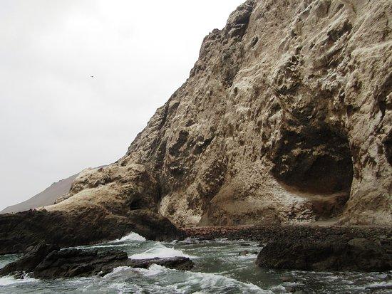 Cuevas de Anzota, Arica