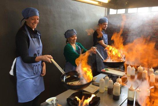 Ivanna Lescano Cooking Class