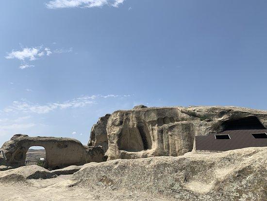 Shida Kartli Region, Gruzja: древний город Уплесцихе