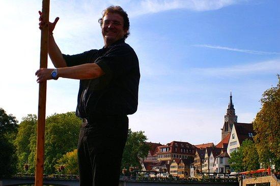 OliKahn Stocherkahn Tübingen