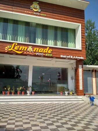Nangal, Индия: Restaurant facade