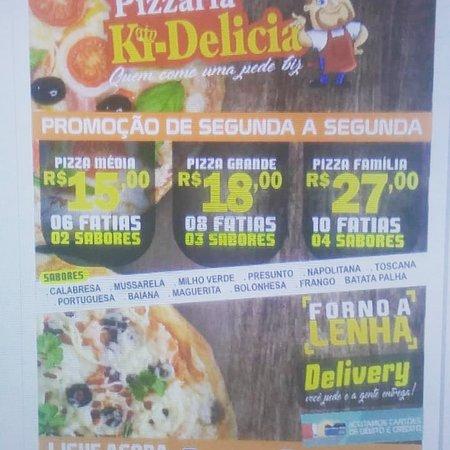 Euclides Da Cunha, BA: A melhor pizza da cidade