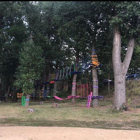 Joniec, โปแลนด์: Park linowy w Joncu