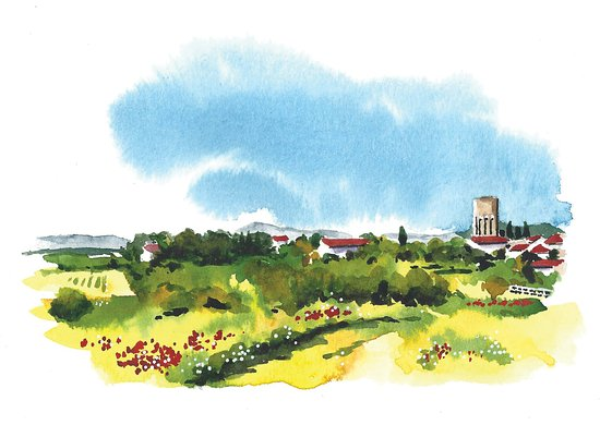 Sketching France