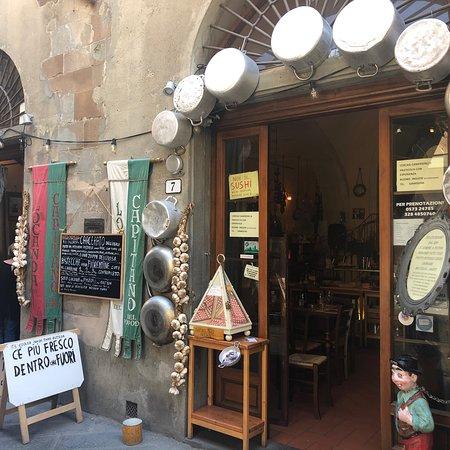 El mejor restaurante de comida Toscana.