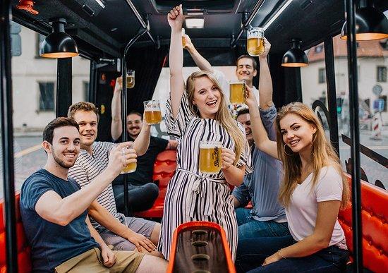 PRAGUE BEER BUS