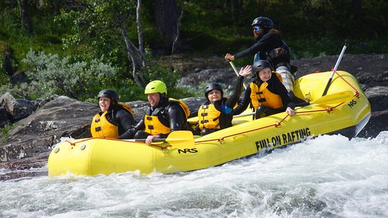 Geilo, Norge: Family rafting trips.