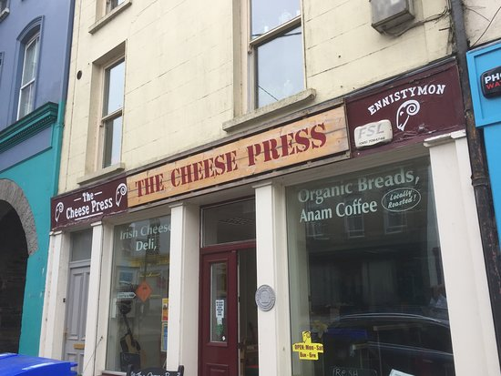The Cheese Press: Really cute place, make you feel welcomed