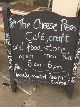 The Cheese Press: Look for the specials