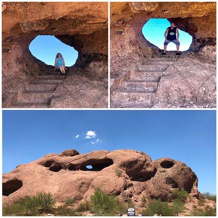 Nice park: He in the Rock was best