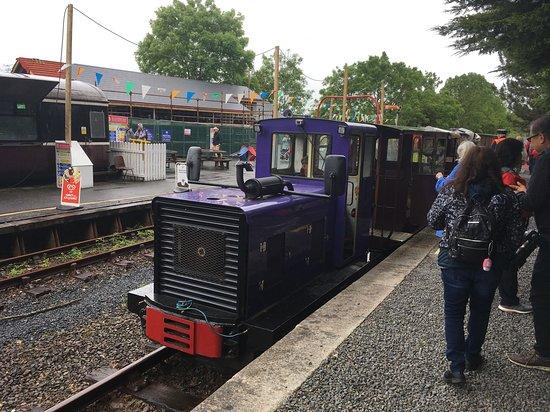 Kilmeaden, Irlandia: The train