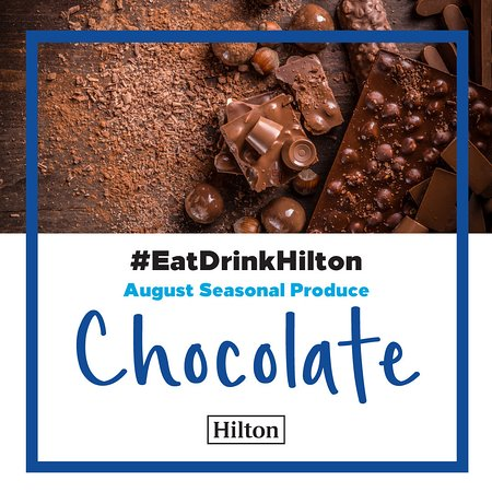 Monthly Special Menu Eat Drink Hilton August