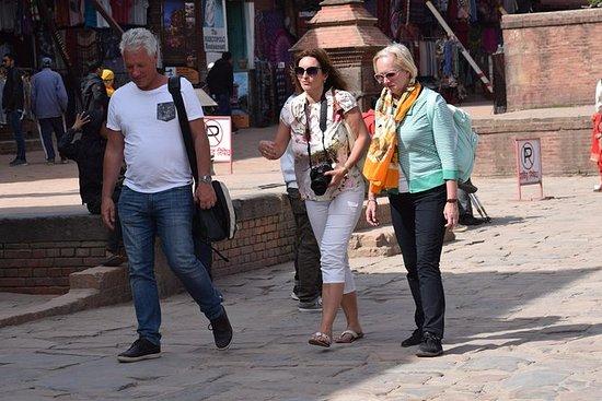 Bytur på Bhaktapur og Patan Durbar...