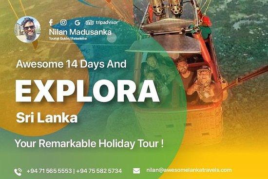 14 jours à la découverte du Sri Lanka