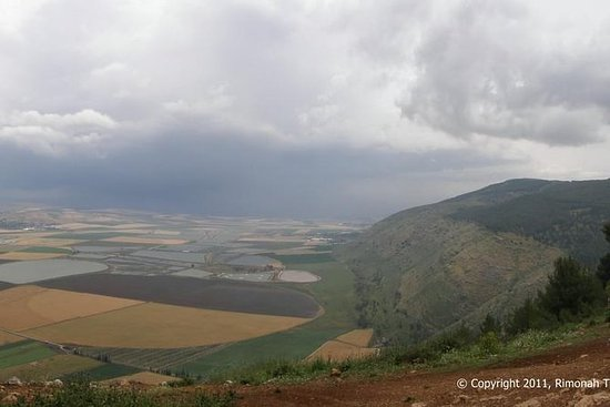 Jordan-dalen, Jezreel-dalen og...