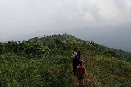 ルウェンゾリ山脈村散歩