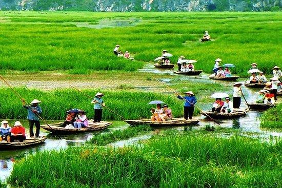 Tam Coc - Hoa Lu-dagtochten