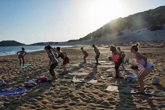 私人卡拉斯之旅包括凯里尼亚的金色海滩
