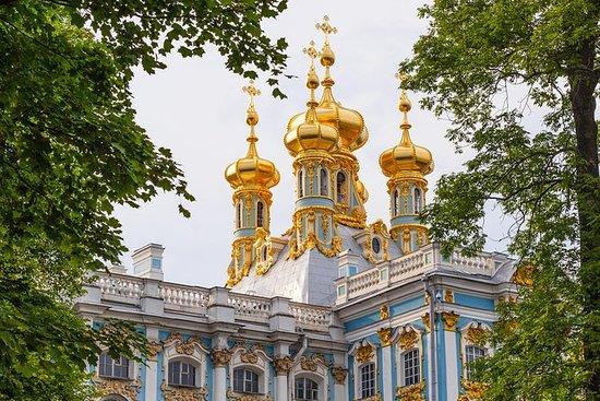 行スキップ:プーシキンのキャサリン宮殿と庭園ツアー