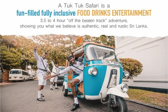 """THE ORIGINALS"" Tuk Tuk Safari Sri"