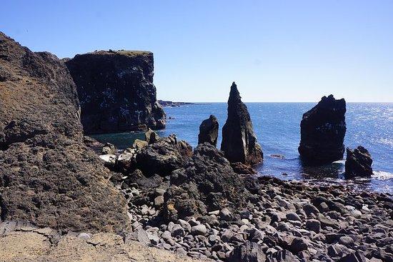 Reykjanes og Blue Lagoon
