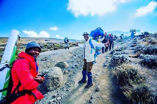 Kilimandscharo-Aufstieg über die Machame-Route: Kilimanjaro climb via Machame Route